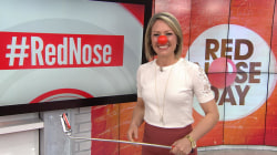 Share your #RedNose selfie with TODAY