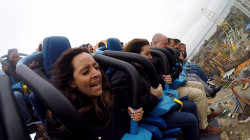 Valravn roller coaster: Join Lilliana Vazquez on the world's tallest, fastest