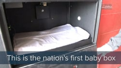Indiana Fire Station Installs Nation's First Baby Box