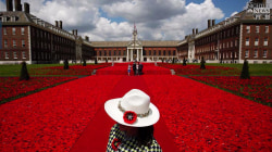 Chelsea Flower Show Poppies a Spectacular Tribute to Armed Forces