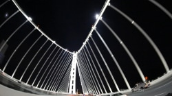 The Six Billion Dollar Bridge: Your new screen saver