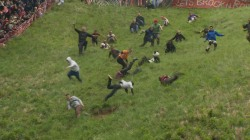 Wacky Races: Watch U.K. Cheese Rolling Mayhem