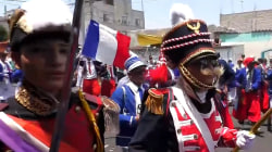 Dancing, Drinking as Mexicans Re-Enact Cinco De Mayo Battle