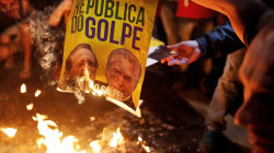 Angry Brazilians Protest 'Civil Coup' Against Suspended President