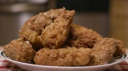 Crispy, crunchy, delicious! How to make Savannah's mom's fried chicken