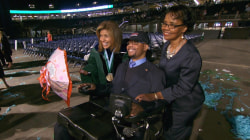 Paralyzed former football player now running for Senate - and he credits Hoda Kotb