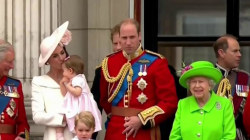 Queen's birthday brings together 4 generations of royal family