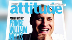 Prince William on cover of 'Attitude' gay magazine to denounce LGBT bullying