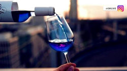 Rose is passe: Blue wine is the latest trend