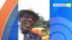 Al Roker takes over Michelle Obama's Snapchat account!