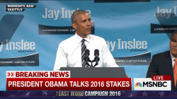 Pres. Obama: 'We don't have time for bigotry'