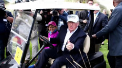 Trump Shrugs off Brexit Concerns in Bizarre Scotland Appearance