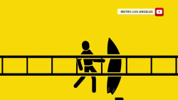 New LA Metro safety ads, featuring stick figures, are too graphic for some