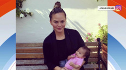 Chrissy Teigen posts new photos of baby Luna