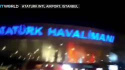 Turkey govt: 2 explosions at Istanbul airport