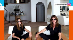 Cindy Crawford shares photo with look-alike daughter Kaia