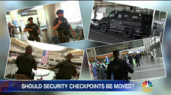 Security Heightened at U.S. Airports as Nation Preps For Holiday