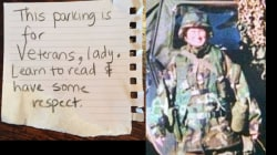 Sexist Note Angers Veteran