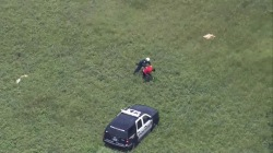 See Helicopter Help End Dramatic Foot Chase