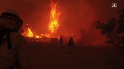 California Firefighters Battle Treacherous Erskine Fire