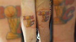 Ecstatic Cavaliers Fans Show Off Championship Tattoos