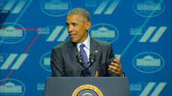 Obama Describes Himself As a 'Feminist' At Women's Summit