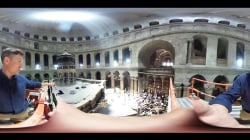 A 360 view of the renovation of Christ's tomb