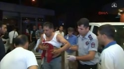 Victims Wounded in Ataturk Airport Attack Arrive at Hospital