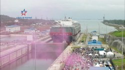 First Vessel Passes Through Expanded Panama Canal