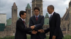 See North America's Epic Handshake Fail