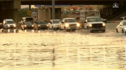 Strong Storms Cause Flash Flooding Near Las Vegas