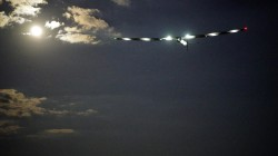 Watch Solar-Powered Plane Take Off for Flight Across Atlantic