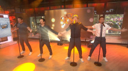 98 Degrees perform 'Because of You' live on TODAY