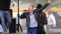Macklemore and Ryan Lewis perform 'Dance Off' on the Plaza