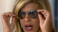 KLG, Hoda's Favorite Things: Sunglasses, hoop earrings