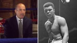 Flashback: Watch Matt Lauer talk about personal hero Muhammad Ali in 2013