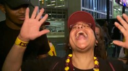 Cavaliers Fans Go Wild After Championship Win