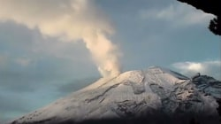 Watch Timelapse of Volcano Spewing Ash and Gas