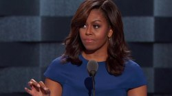 First Lady Obama: Hillary Clinton Is 'Only One' for President