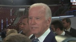 VP Biden: Convention fights are normal