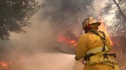 8 hikers rescued as California wildfire threatens scenic coastline