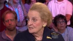 Albright: Donald Trump is just 'weird'