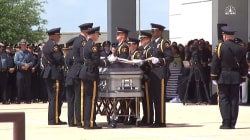 Watch Dallas Officer Slain in Ambush Be Laid to Rest