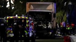 French Truck Attack Captured On Social Media