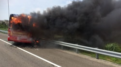 Fiery Tour Bus Crash Claims 26 Lives