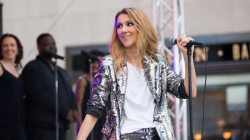 Celine Dion performs 'Because You Loved me' live on TODAY