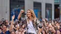 Celine Dion performs 'Water and a Flame' live on TODAY