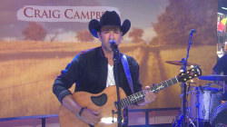Country singer Craig Campbell performs 'Outskirts of Heaven'