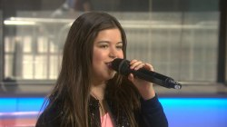 Watch 13-year-old Sophia Grace from 'Ellen' sing for KLG, Hoda