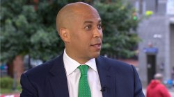 Cory Booker: Debbie Wasserman Schultz 'did the right thing' by resigning